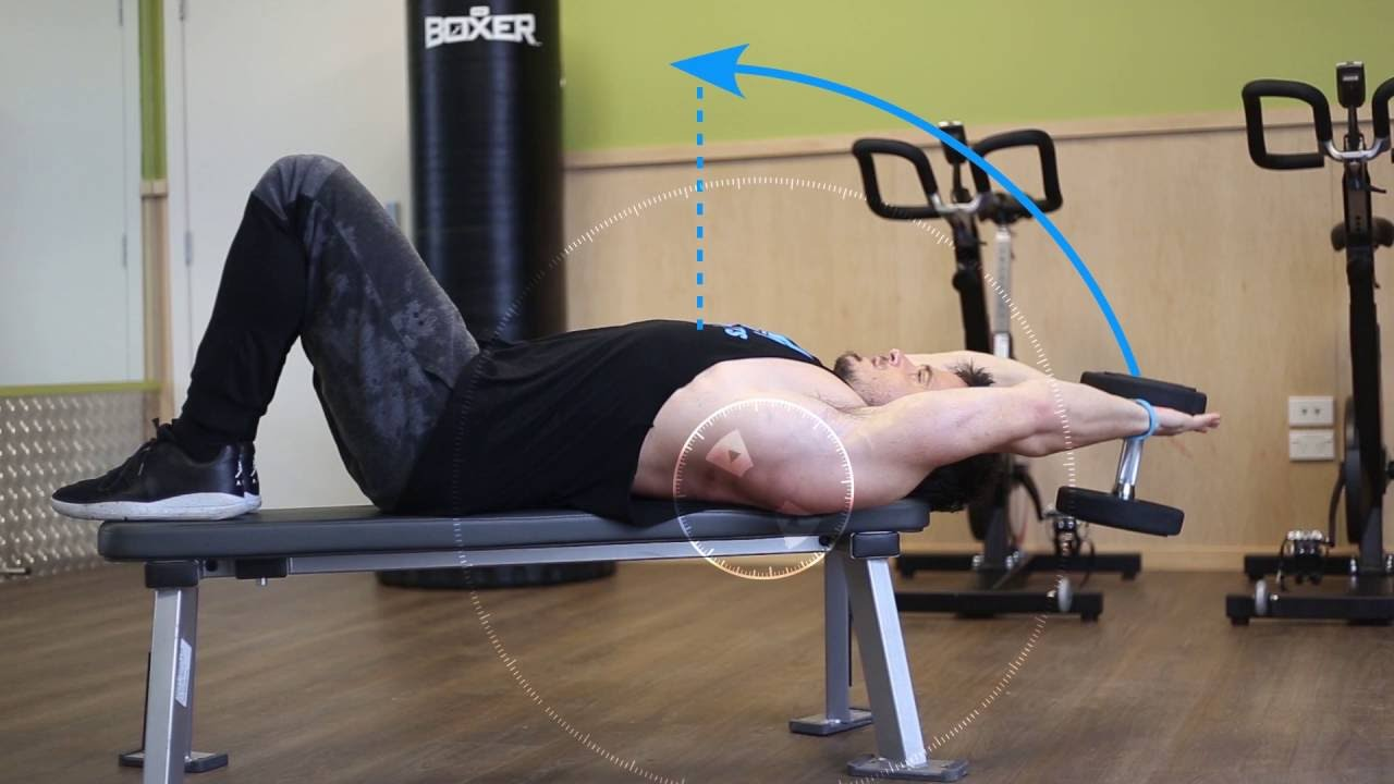 Master The Dumbbell Pullovers Best Back Exercises Bpi Sports