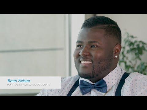 Meet Brent: NFL hopeful, small-business owner, Penn Foster graduate