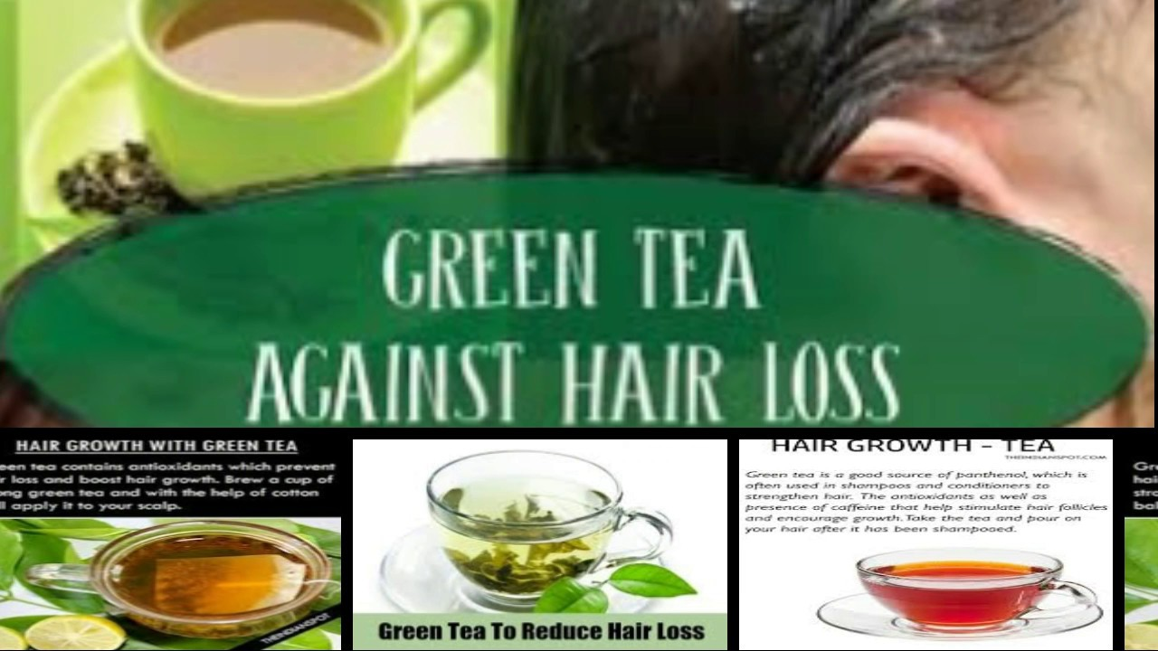 How Does Green Tea Reduce Hair Loss
