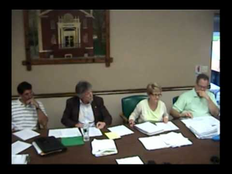 Hoosick Falls Board Meeting August 2014