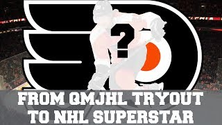 This NHL Player Went From A QMJHL Tryout To NHL Superstar! The Story of Claude Giroux