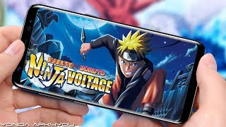 Awesome Game! NARUTO X BORUTO NINJA VOLTAGE - Android IOS Gameplay