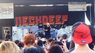 Neck Deep - Where Do We Go When We Go Live at Warped Tour