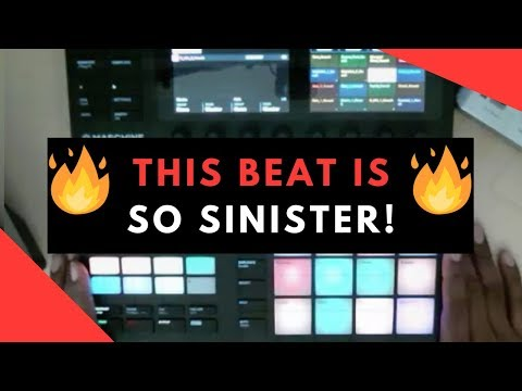 Sinister Beat Making In Maschine MK3 | Sample Pack Review