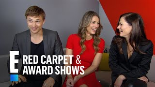 """""""The Royals"""" Cast Plays E!'s Rapid Fire Game 