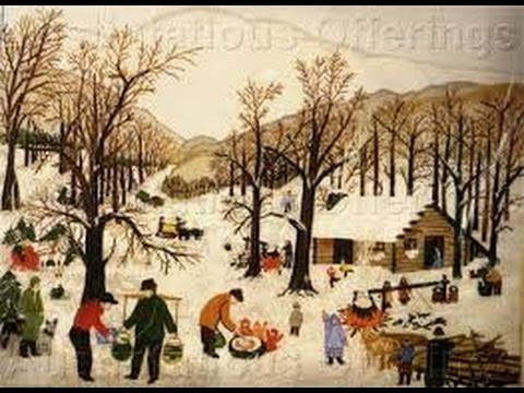 Grandma Moses!  America's Most Loved Painter of Folk Art!