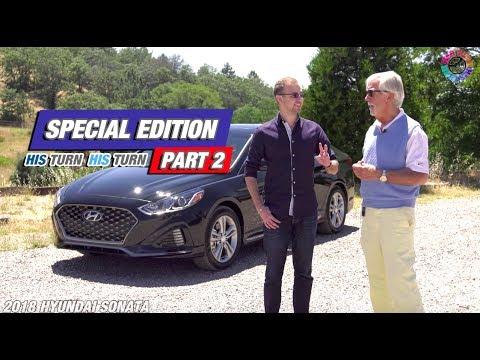 2018 Hyundai Sonata His Turn Her Turn Car Review