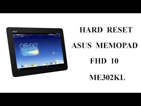 Hard Reset Asus K005 ME302 Сброс Настроек