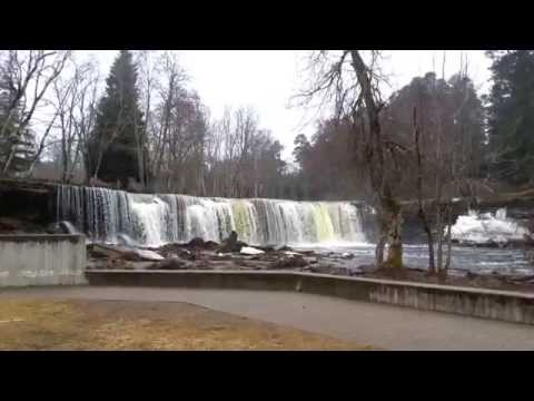 Keila Juga - Keila Waterfall April 2014, Estonia filmed by Best Apartments