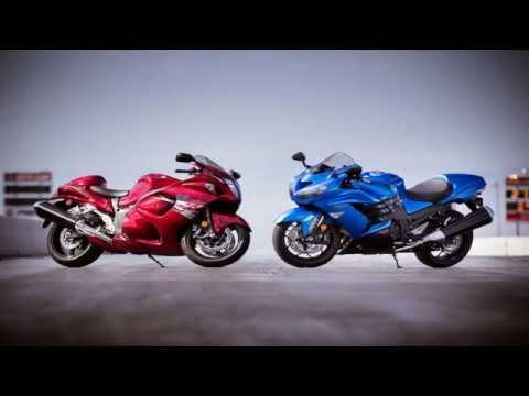 Kawasaki Ninja Zx 14r Vs Suzuki Hayabusa Gsx1300r Youtube