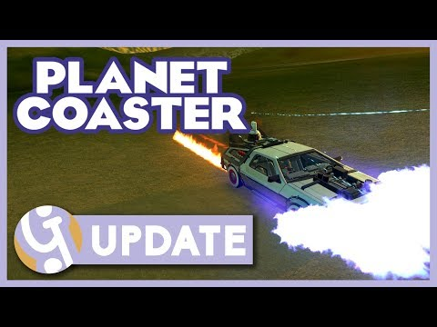 Planet Coaster DLC and 1.3.3 Update Overview