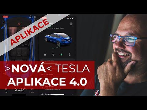 Mobilní Aplikace Tesla 4.0