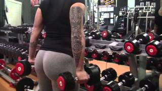 Tone Butt Workout, itness Training w/ Victoria Lomba