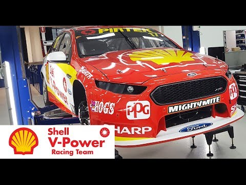 Inside The Shell V-Power Racing Team
