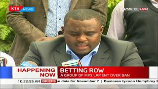 Betting Row: A group of senators lament over ban, says economy will suffer due to ban