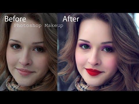 Photoshop face Makeup || 2017 || Tutorial #photoshop #tutorial #face_makeup