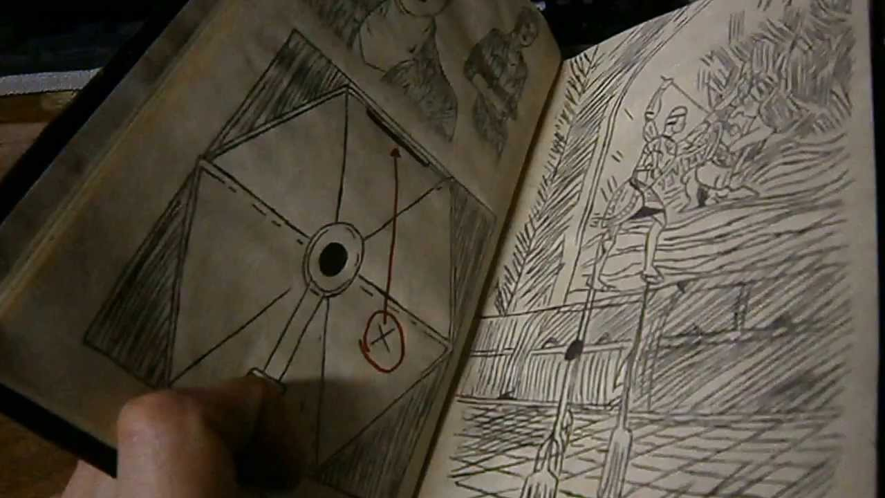 uncharted 3 drakes deception journal replica youtube