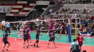 ASUL Lyon Volley - Sète : 3-2 (10/01/2015)