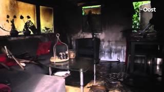 Stacaravan brandt uit op camping 't Veld in Rheeze