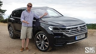 The New VW Touareg is a Tech Leap Forward! | TEST DRIVE
