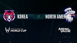 KR vs NA | Knockout Stage Day 4 | AWC 2018