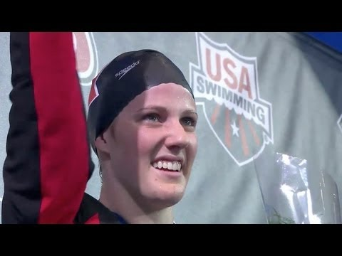 Missy Franklin wins 100m Freestyle at  National Championships - Universal Sports