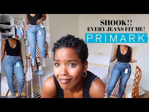 CURVY APPROVED! $20 PRIMARK JEANS! EVERY JEANS I TRIED FIT!. http://bit.ly/2zwnQ1x