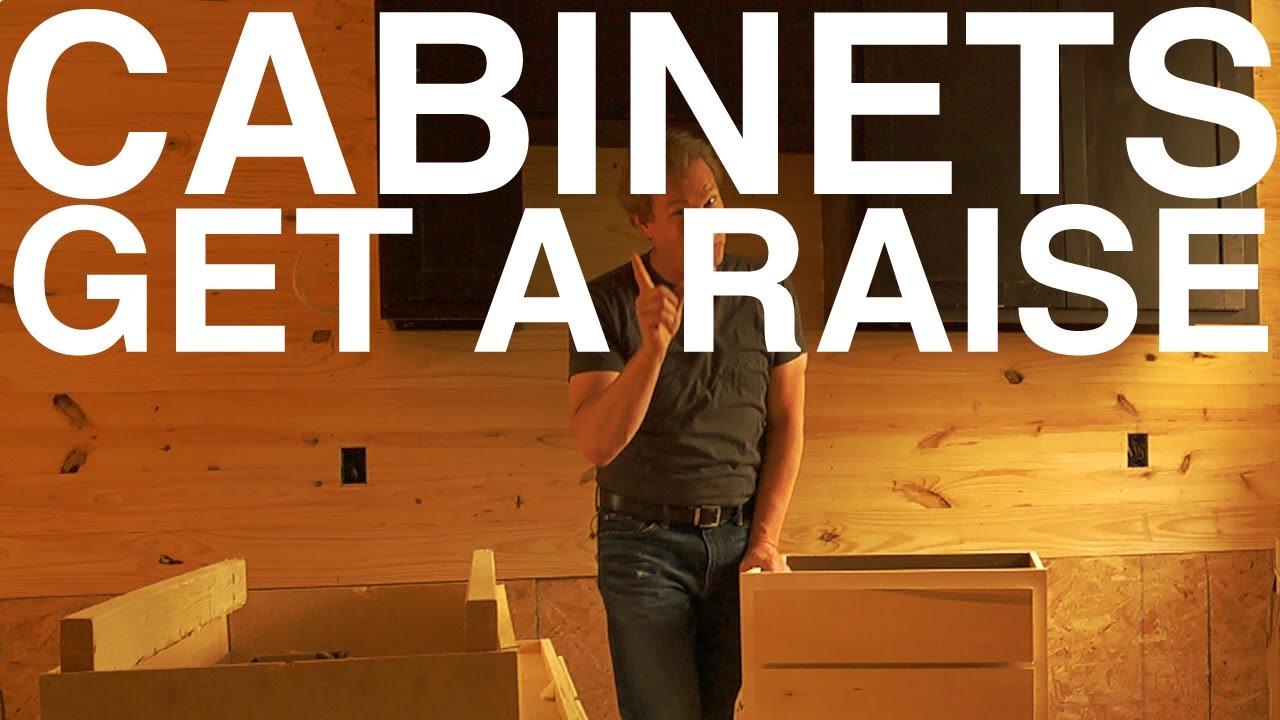 Raising Kitchen Cabinets