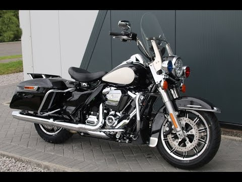 harley davidson 2018 road king police bike flhp. Black Bedroom Furniture Sets. Home Design Ideas