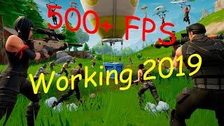 How to get more FPS on Fortnite | 500+ FPS Working 2019