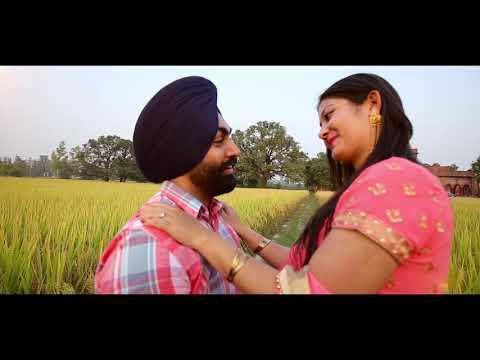Song | Jine Saah | Ninja | Pre Wedding | Gurpreet With Komalpreet | 2017 | Punjabi Song |
