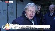 Boris Johnson retreats into fridge to avoid TV interview