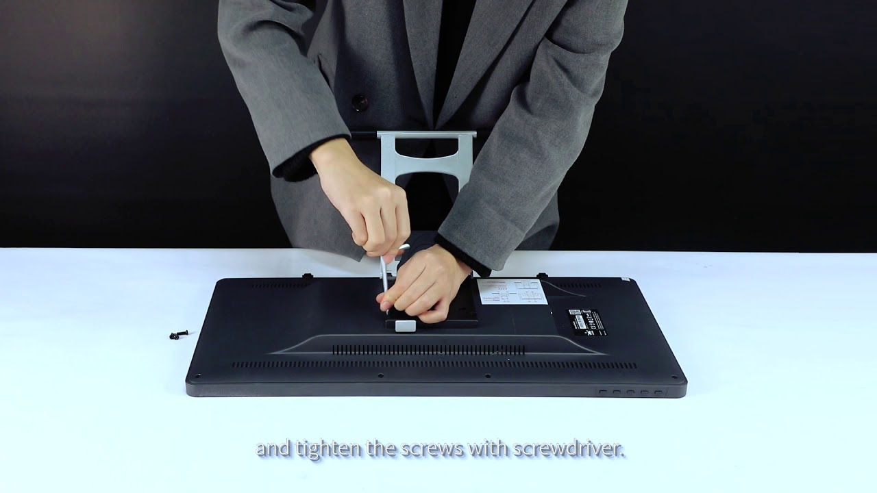 How to set up the stand for Huion Pen display series 1 (GT-191/Kamvas Pro  20)
