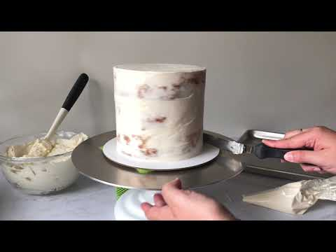 how-to-fill,-stack-&-crumb-coat-layered-cake