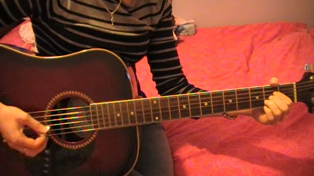 Dixie Chicks - Traveling Soldier - Guitar Cover - YouTube