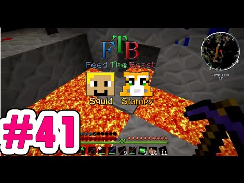Minecraft Feed The Beast #41-42 | Minecraft Squid and Stampy