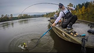 Bass Fishing near Portland Oregon