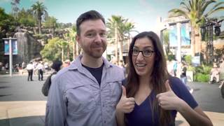 Surprise Proposal JP Record Holders Review Jurassic World - The Ride