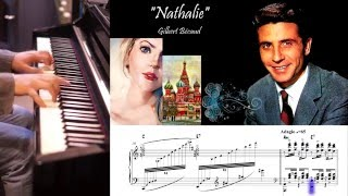 "Gilbert Bécaud-""Nathalie""- piano cover"