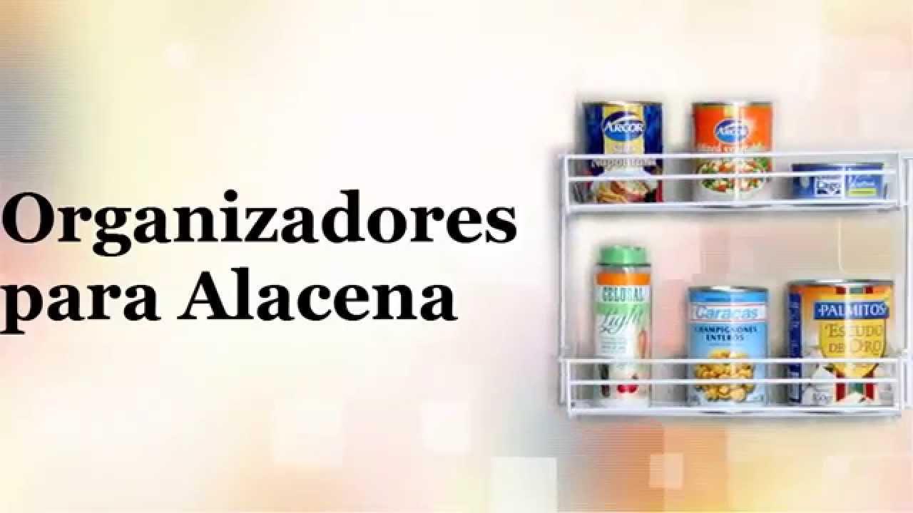 Cocina organizadores de alacena 4habitat youtube for Alacenas para cocina