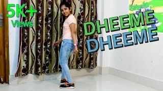 Dheeme Dheeme Dance Video | Vicky Patel Choreography | Tony Kakkar Song | Dance Cover | Harshikha