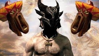 Skyrim - COMO DIOS | Parodia Like a Boss