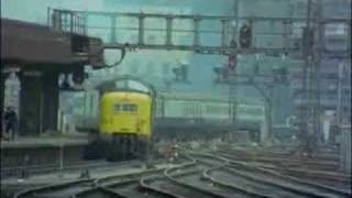 Deltic 9005 - on the ECML - 1973