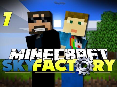 Minecraft Modded SkyFactory 7 - AUTO SOULSAND