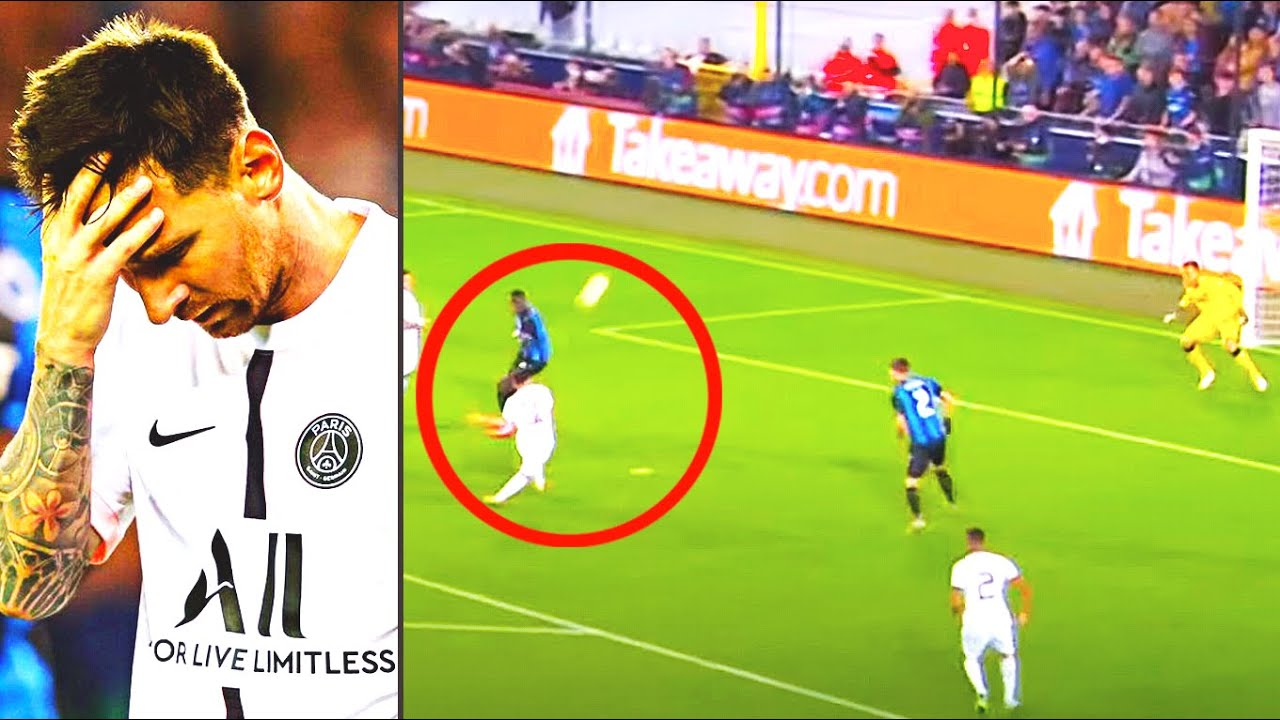 FANS LAUGHED MESSI FOR THIS EPISODE! LIONEL'S SHAME in his debut for PSG in the Champions League!
