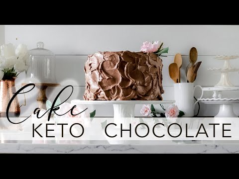 The BEST Low-Carb Chocolate Cake | Keto | Paleo | Sugar-free