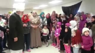 Syrische Flüchtlinge bekennen sich zu Ahmadiyya Islam
