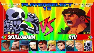 Street Fighter EX Plus Alpha All Characters [PSX]