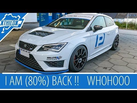I AM (80%) BACK .. YEAH .. 1st Test was great - relaxed 7:34 min BTG Nürburgring Nordschleife