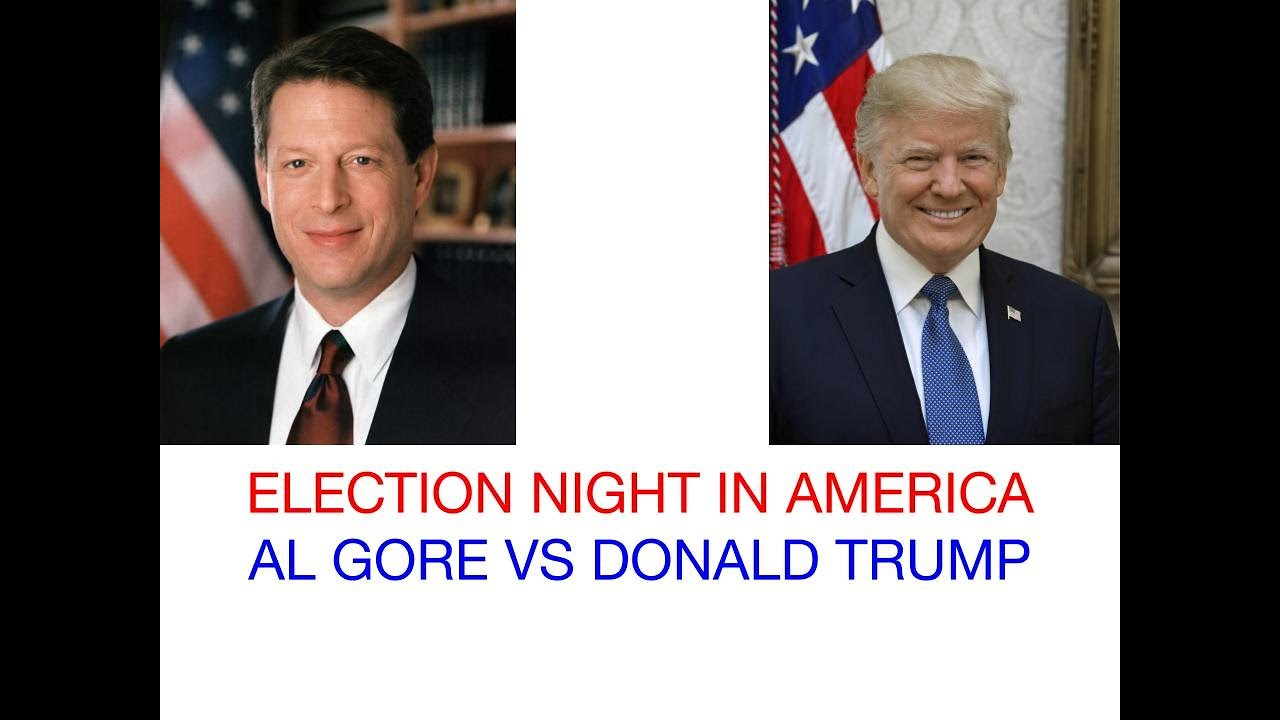 2020 Election Night in America: Donald Trump vs Al Gore